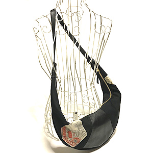 Crescent moon bag